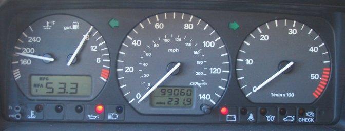 B4 Passat TDI MFA trip computer conversion